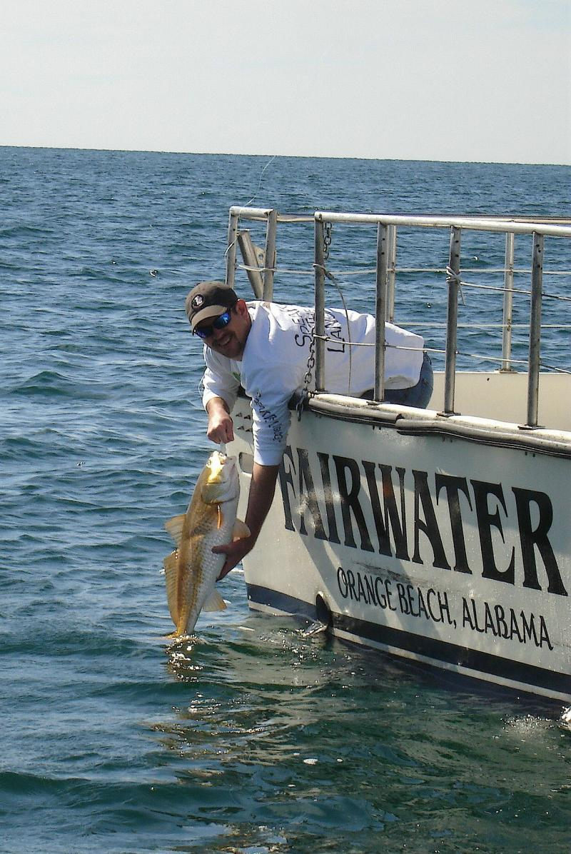 Reel em in with captain tom ard just another wordpress for Gulf shores alabama fishing